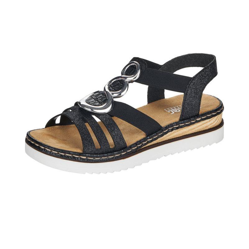 Dámské sandály Rieker 679L4-00